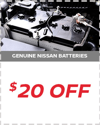 $20 Off Battery