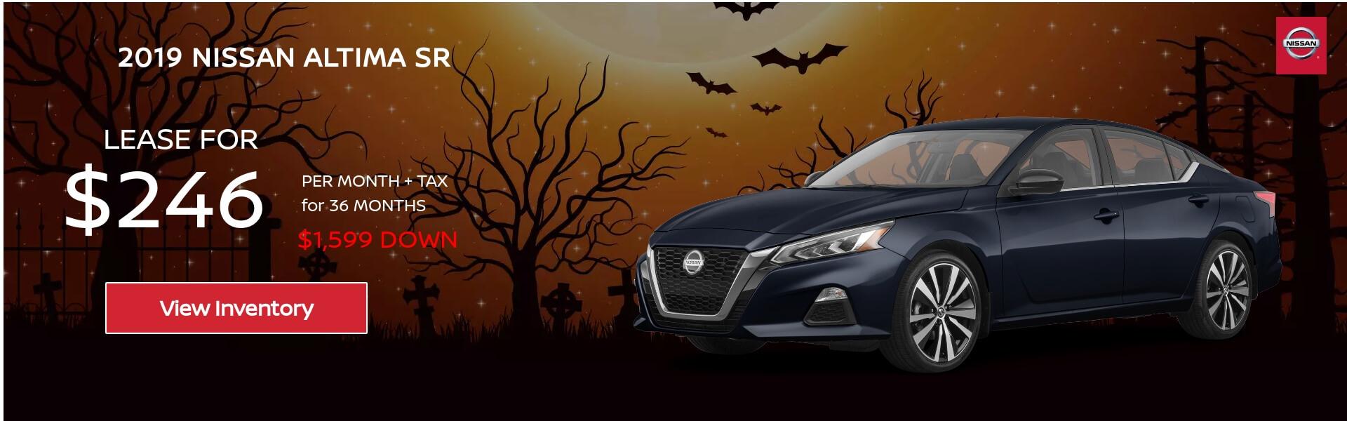 Nissan Altima $239 Lease