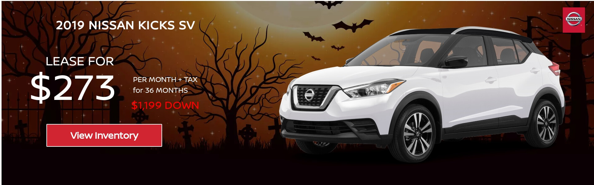 Nissan Kicks $273 Lease