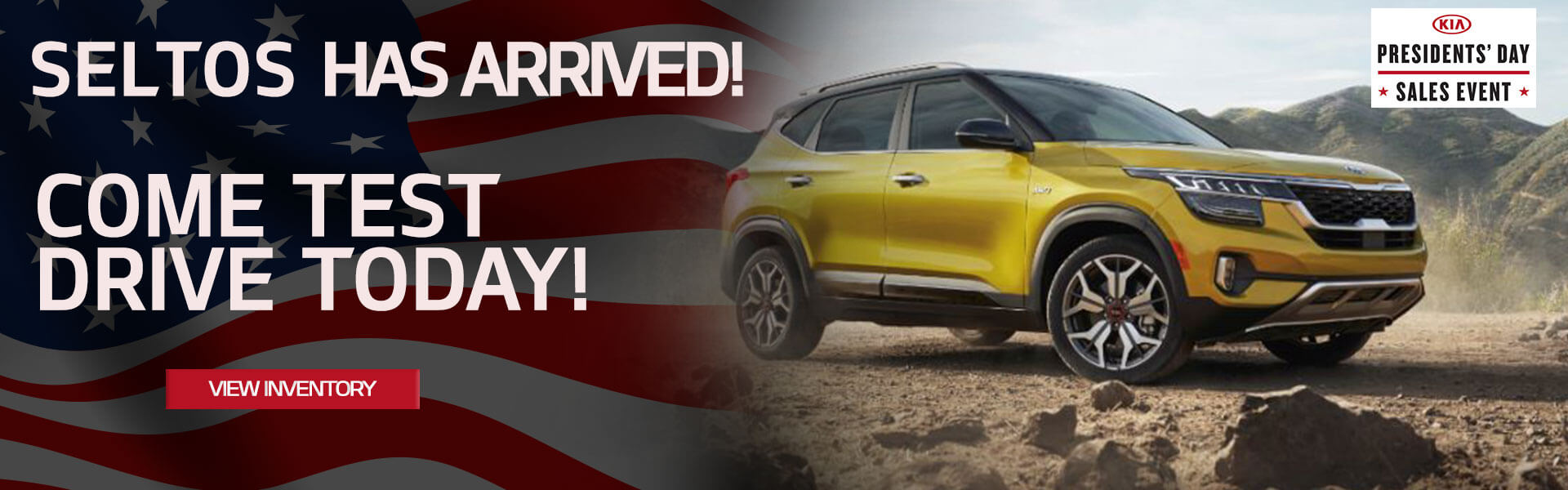 Seltos has arrived! Come test drive today!