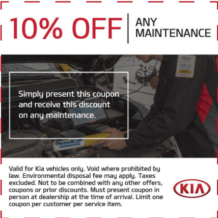 10% OFF ANY MAINTENANCE