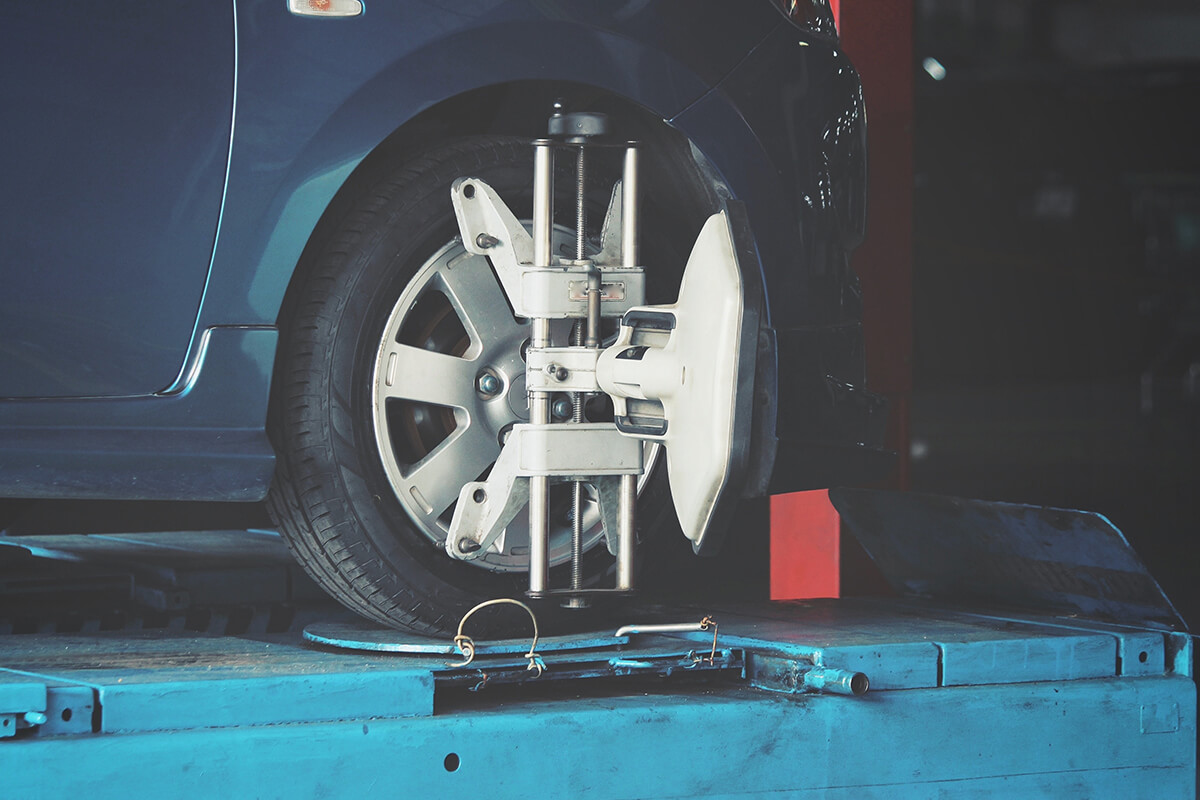 $89.95 FRONT WHEEL ALIGNMENT SPECIAL