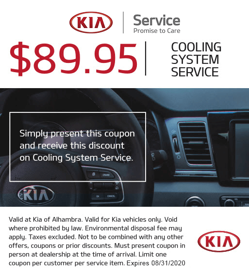 $89.95 COOLING SYSTEM SERVICE