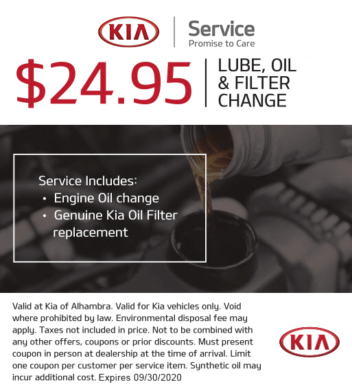 Lube, Oil & Filter Change