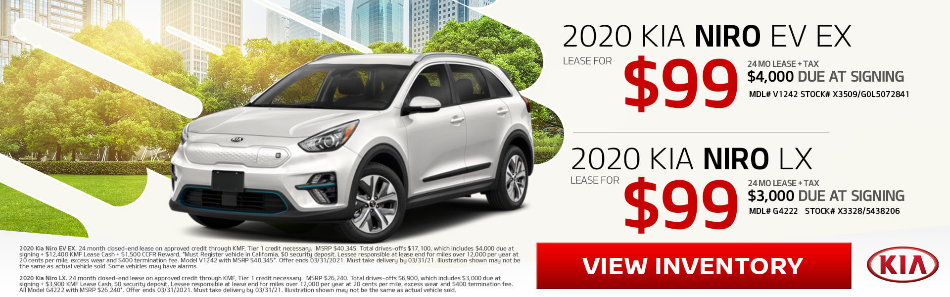 Kia Niro Double Deal