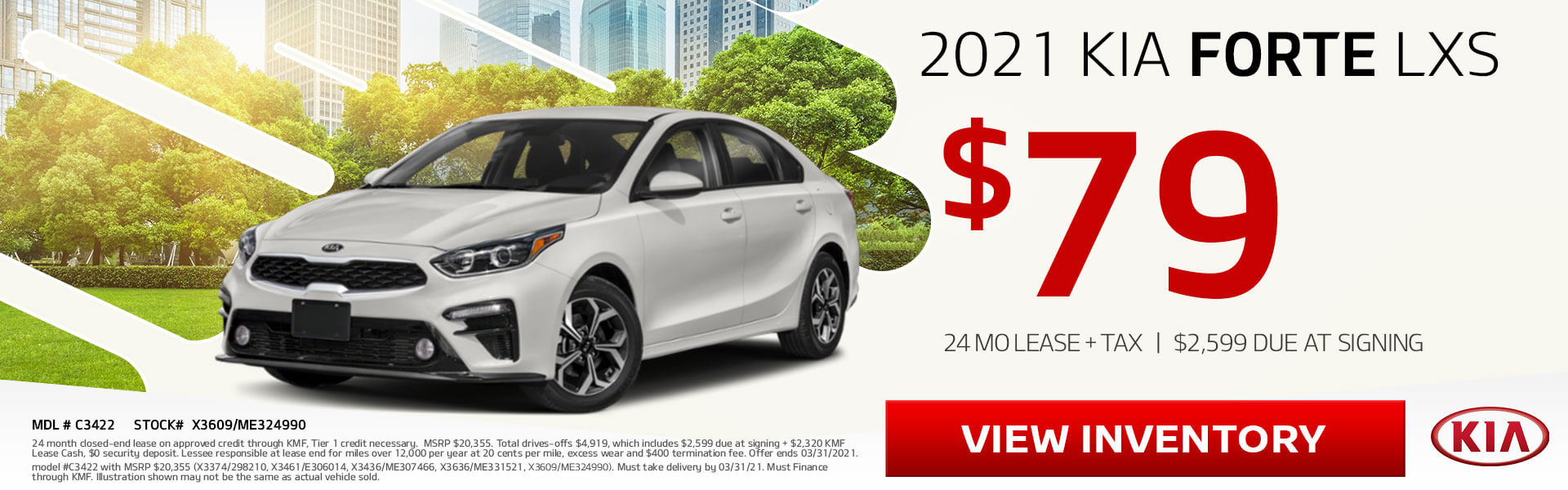 Kia Forte on sale!