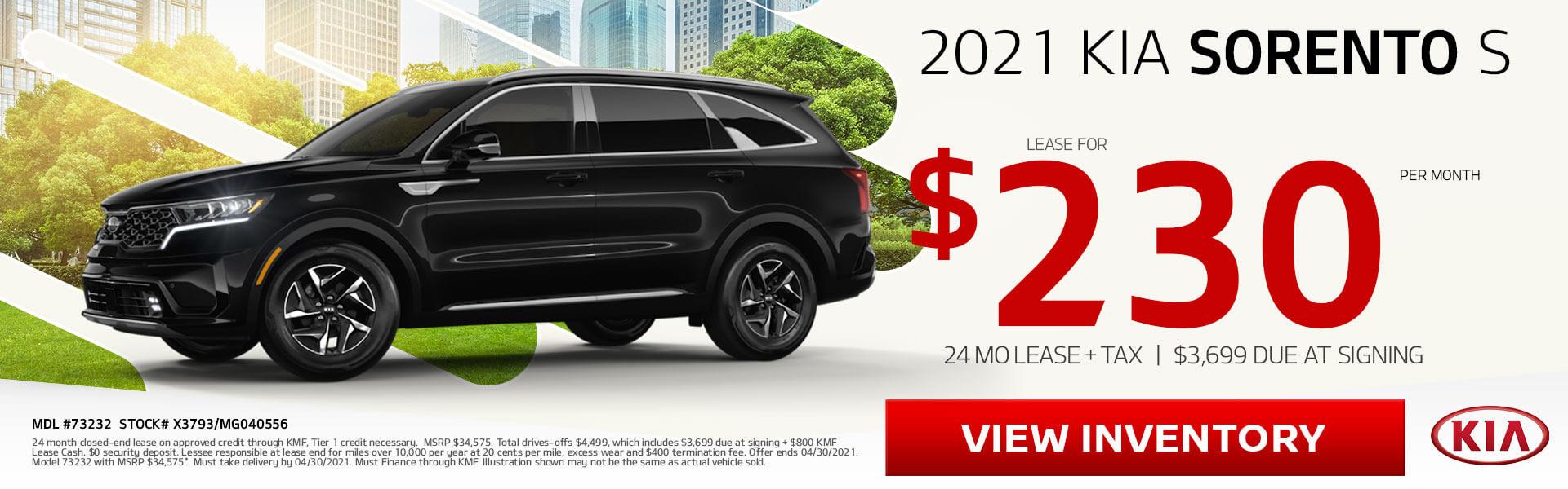 2021 KIA Sorento S