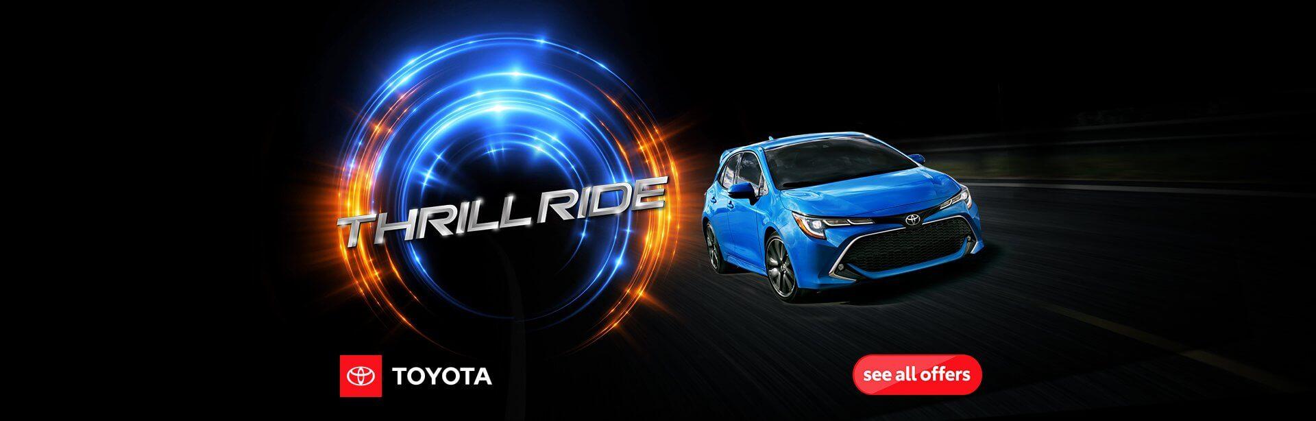 Thrill Ride Sales Event
