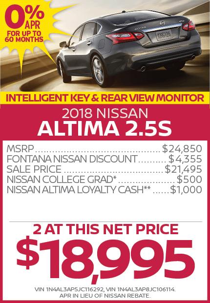 2018 Nissan Altima 2.5S