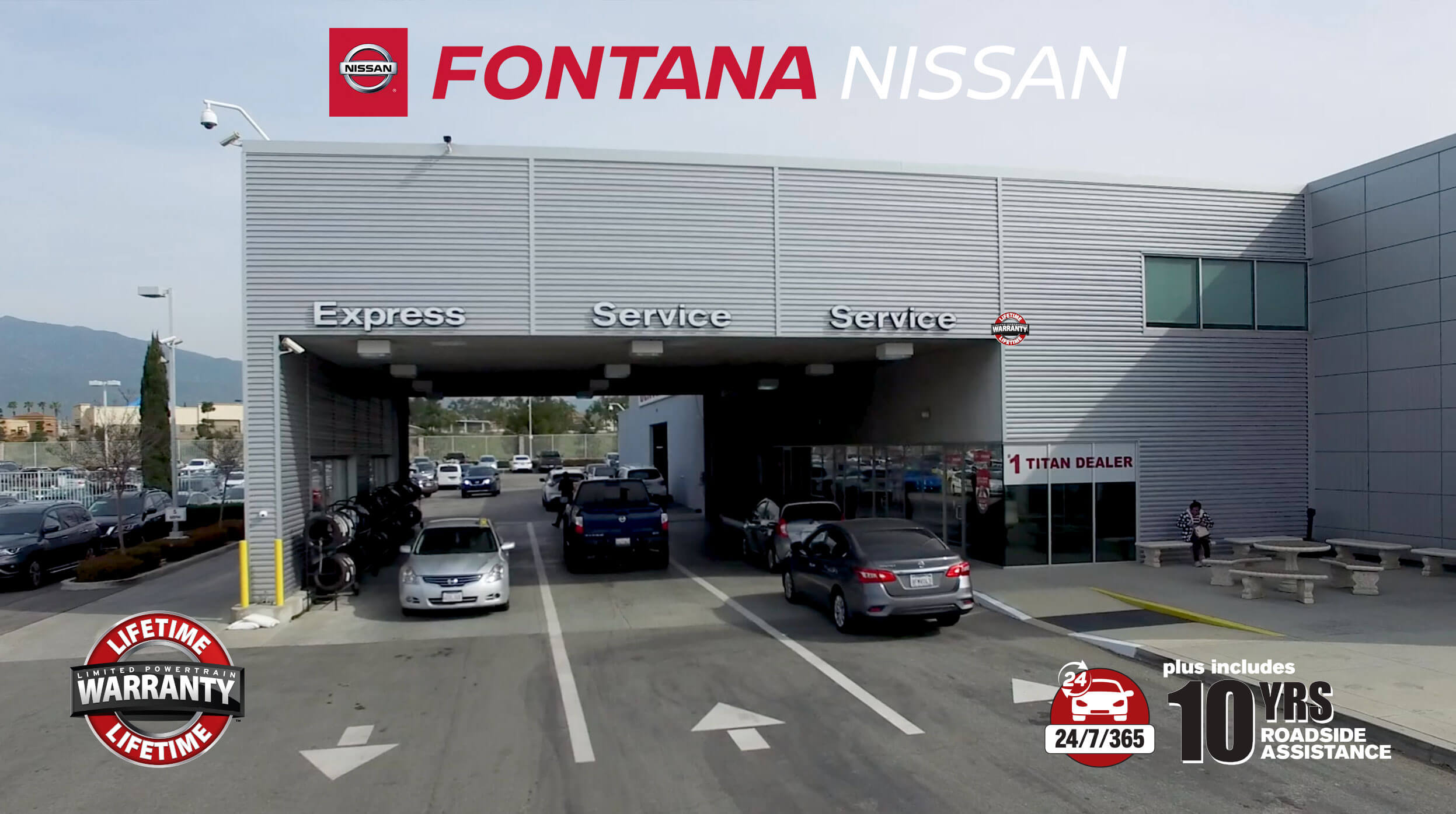 Fontana Nissan Lifetime Warranty