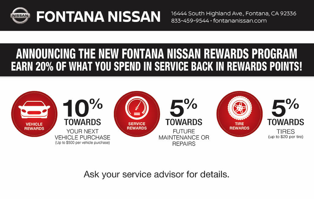 Nissan Rewards Program