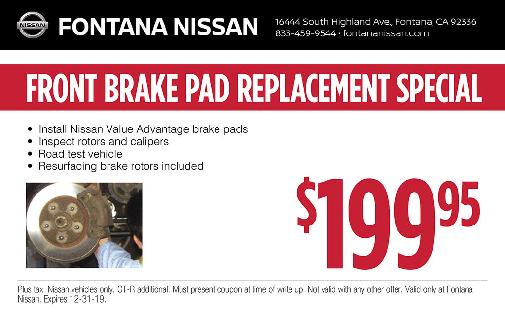 Front Brake Pad Replacement
