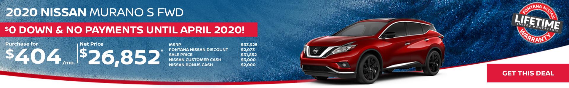 Nissan Murano $404