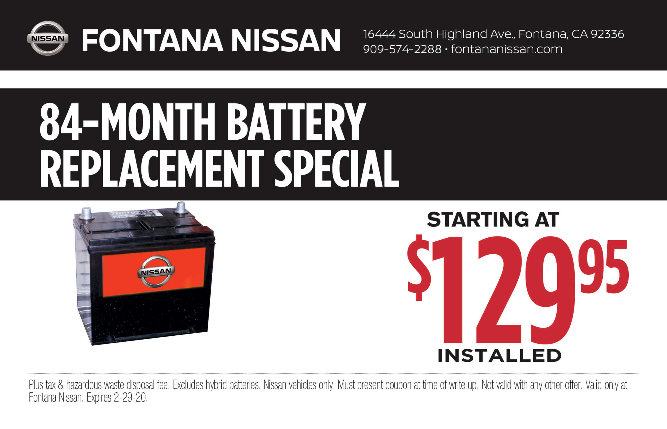 84-Month Battery Replacement