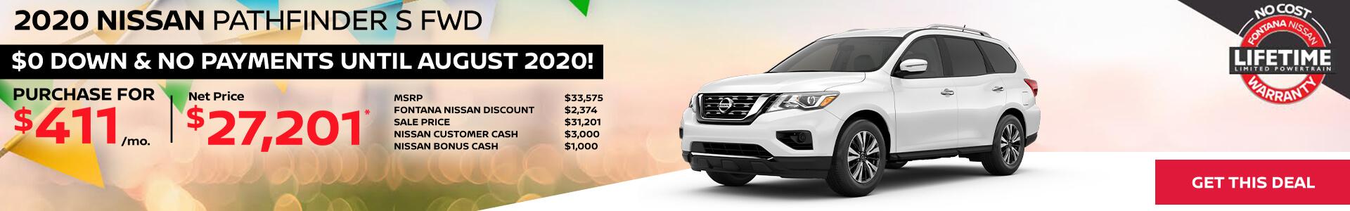 Nissan Pathfinder $411