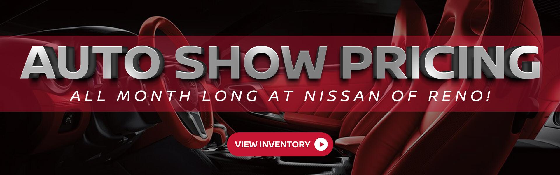 Auto Show pricing