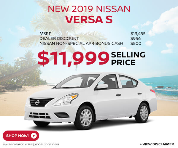 2018 Nissan Versa - Purchase for  $12,118