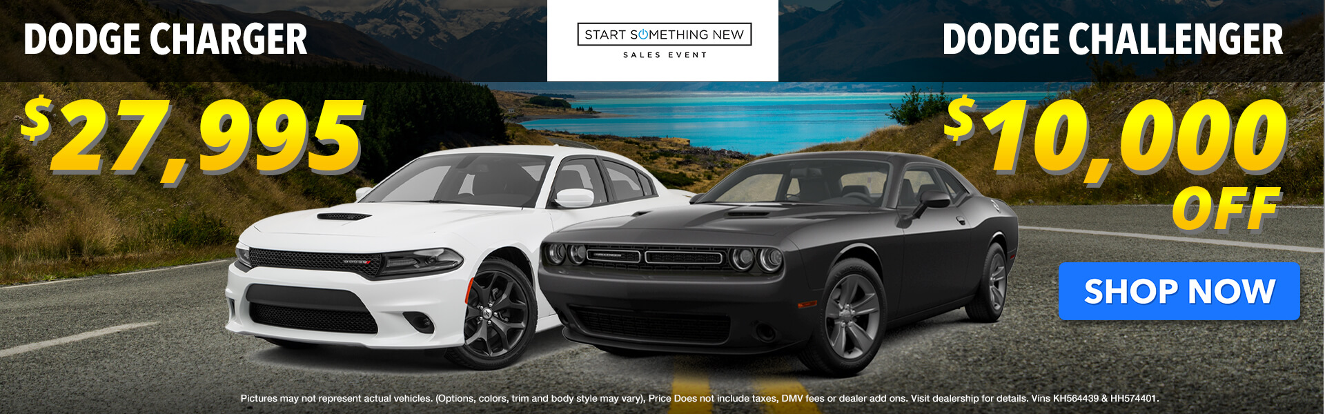 Challenger and Charger