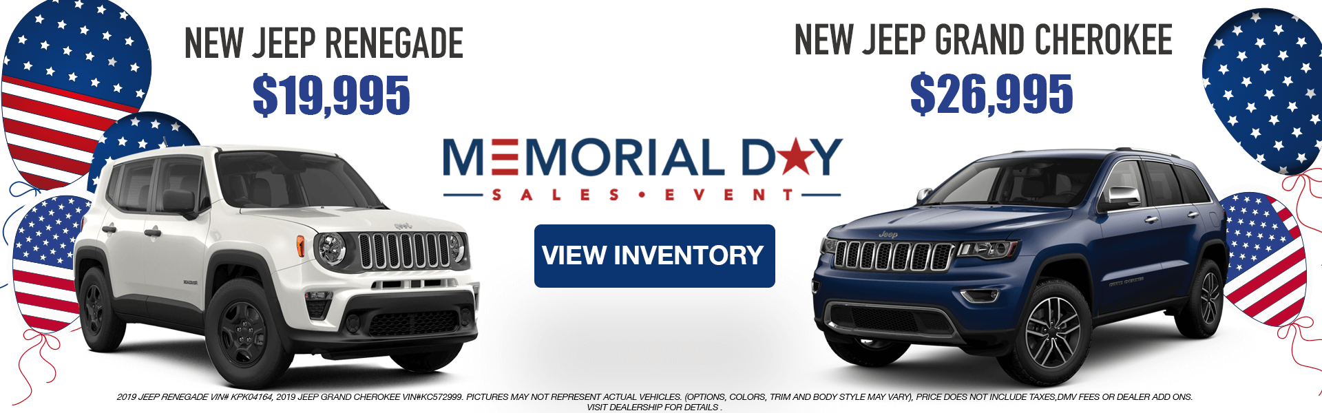 Jeeps: Renegade, Grand Cherokee