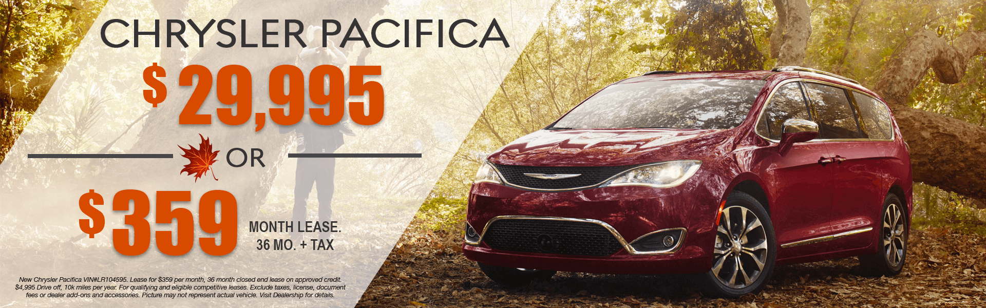 Chrysler Pacifica (Lease)-FALL