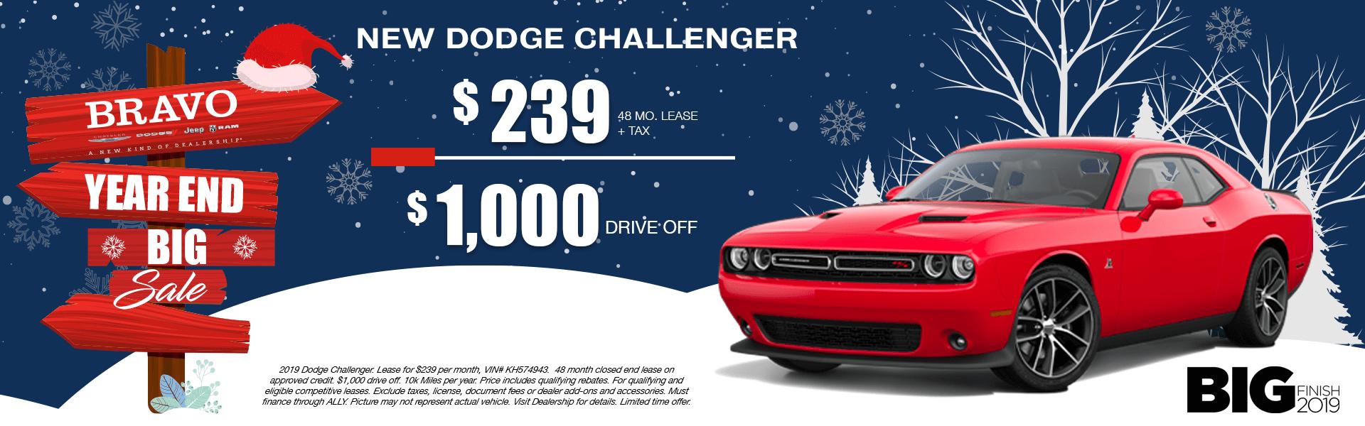 Dodge Challenger-Lease
