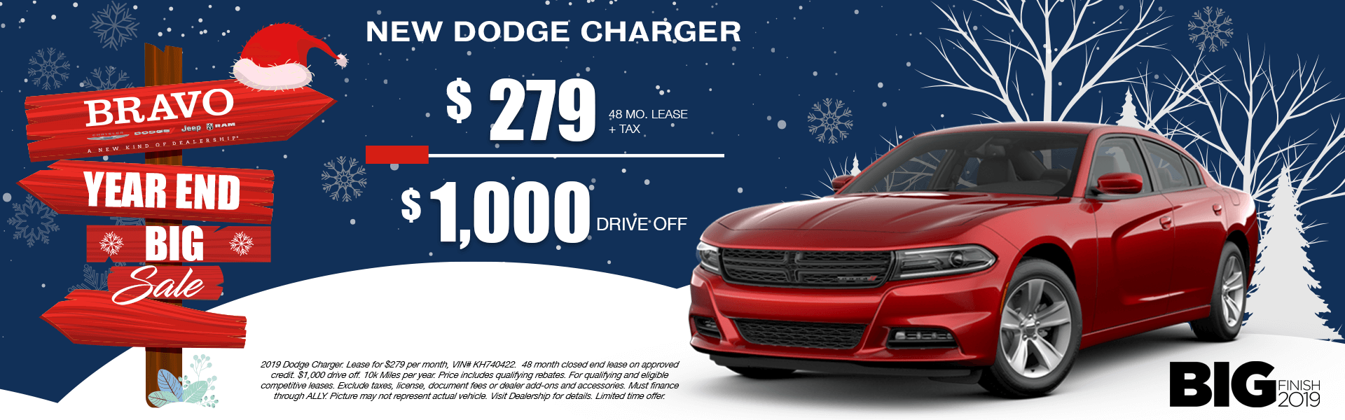 Dodge Charger-Lease