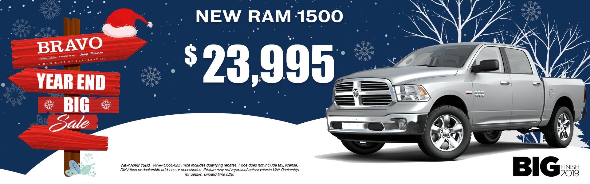 Ram 1500 - 23k