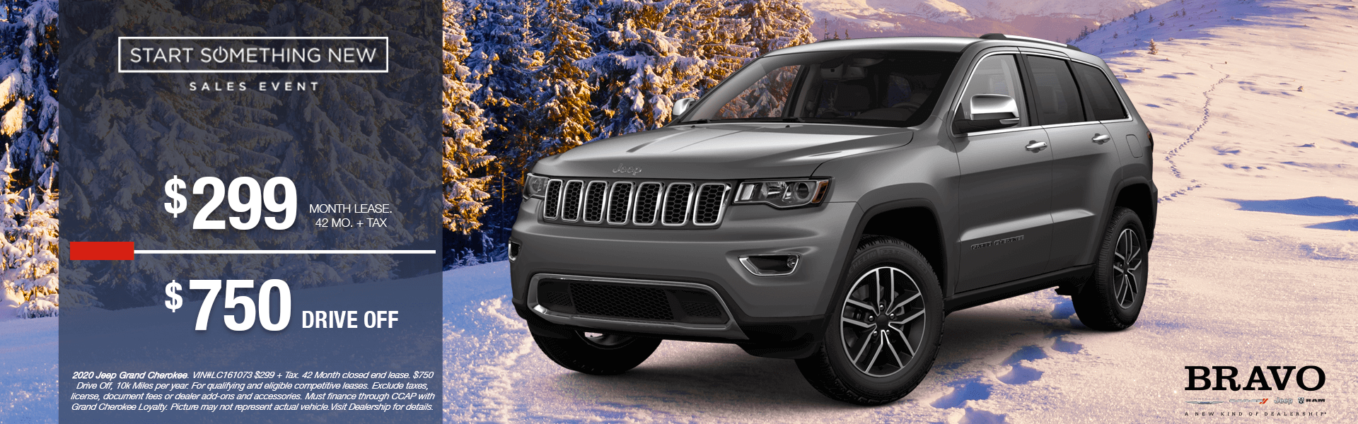 Jeep Grand Cherokee - Lease