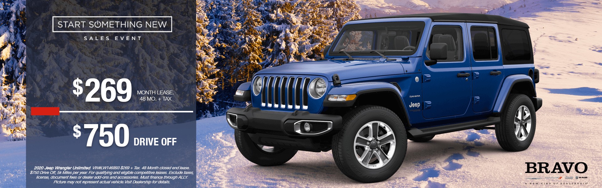 Jeep Wrangler Unlimited- Lease