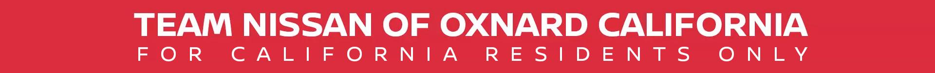 Team Nissan of Oxnard California