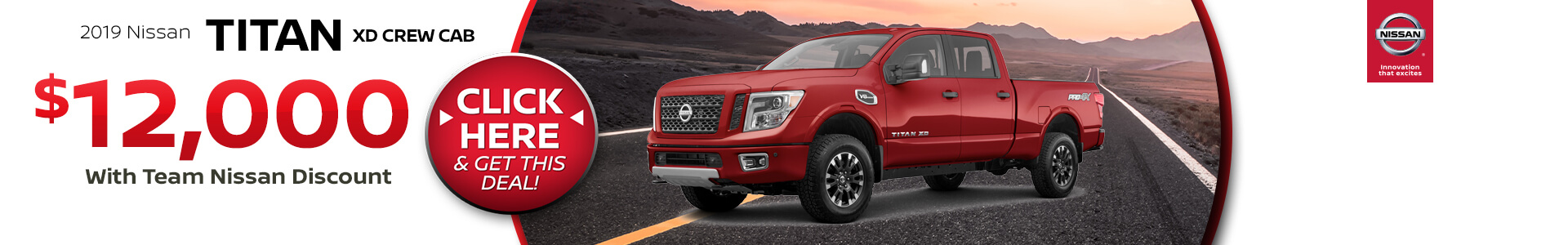 Nissan Titan $12,000 off MSRP