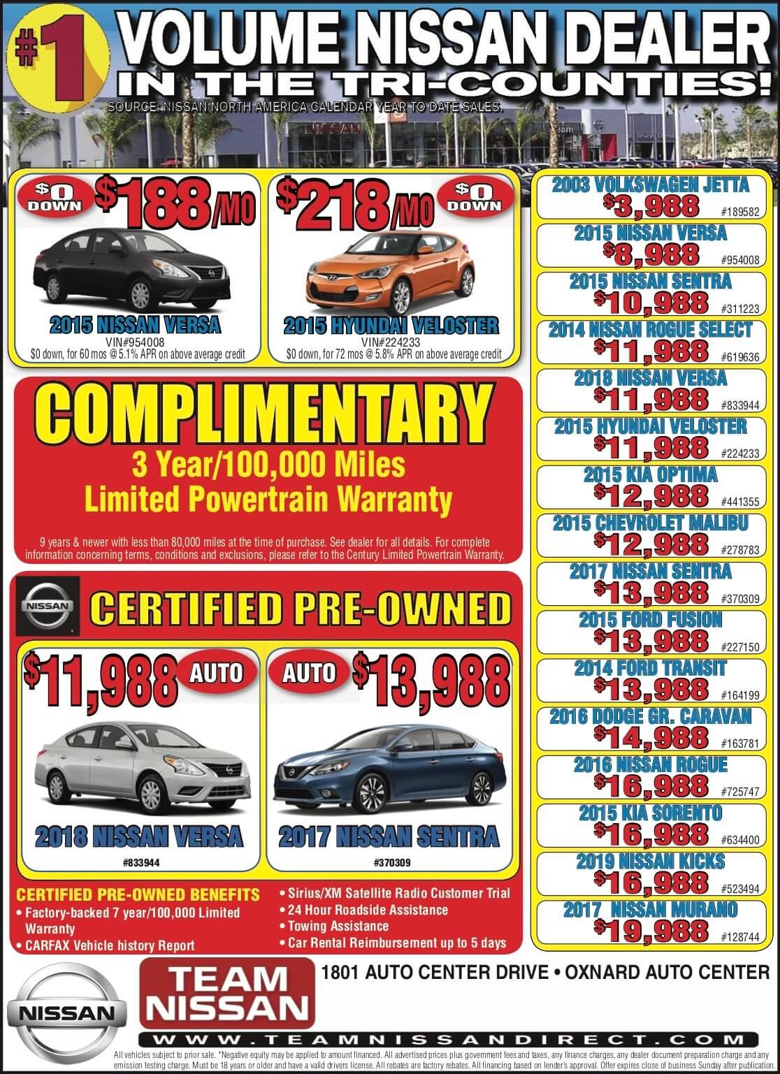 Used Car Sale