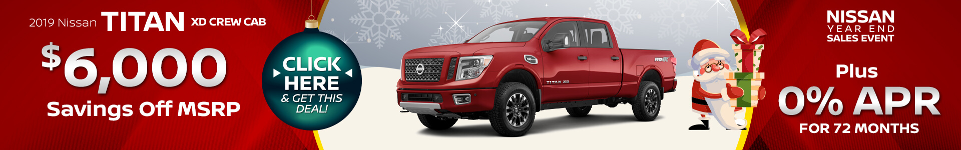 Nissan Titan $6,000 off MSRP