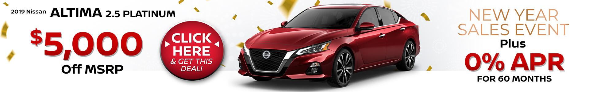 2019 Nissan Altima Purchase