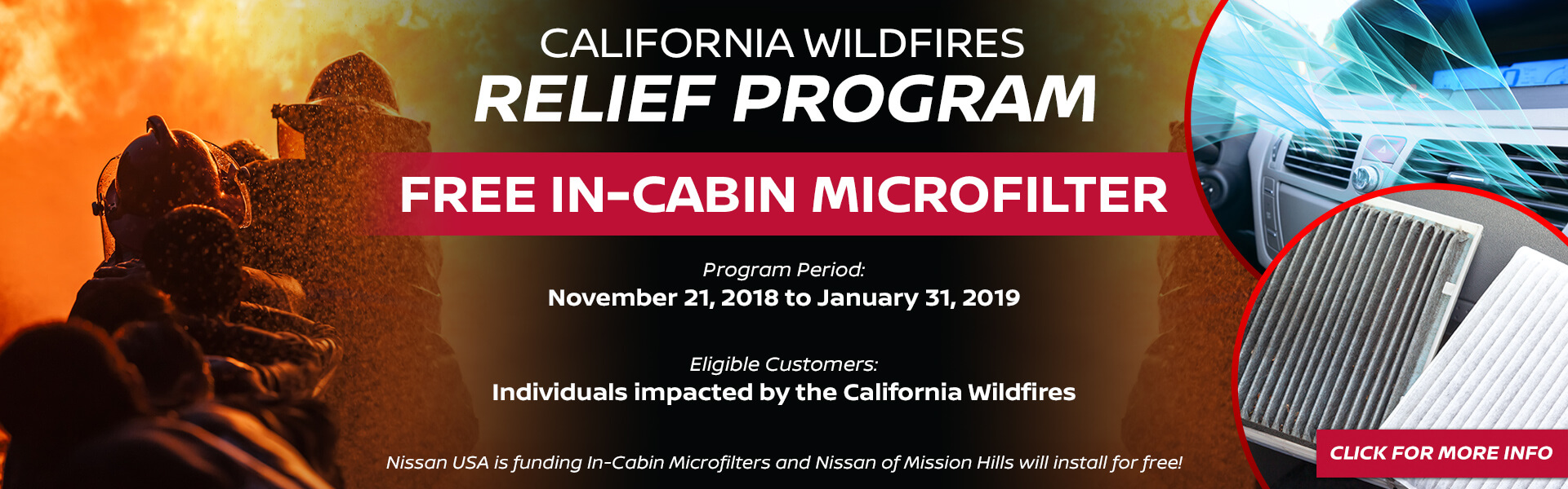 CA Wildfires Program