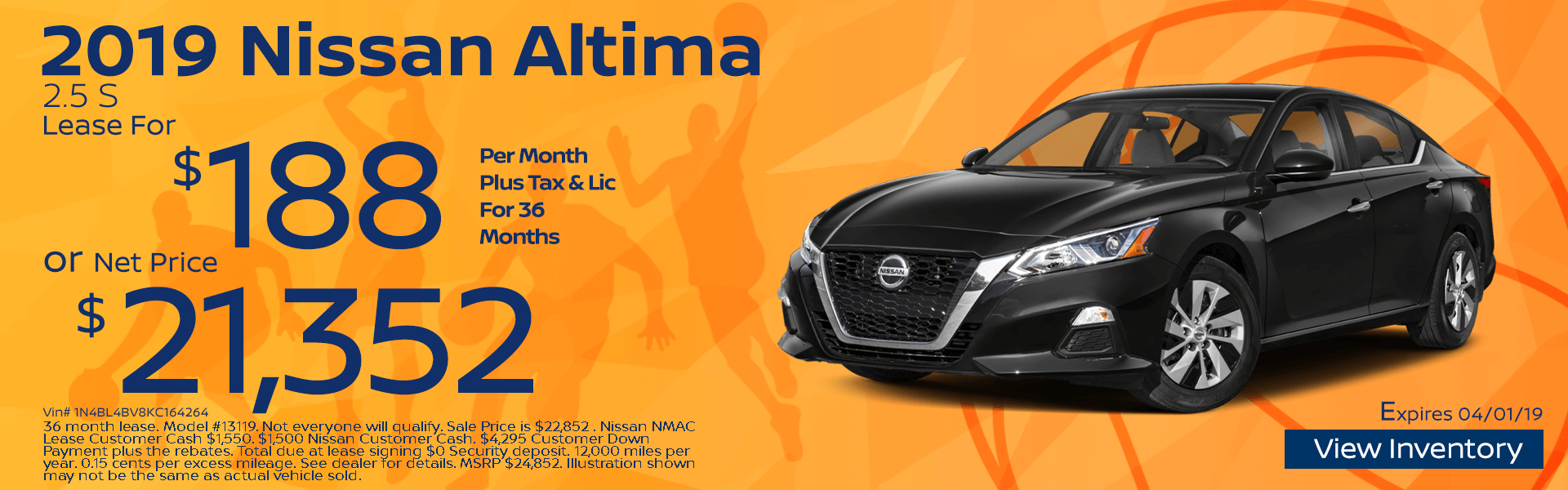 Altima Lease and Net Price