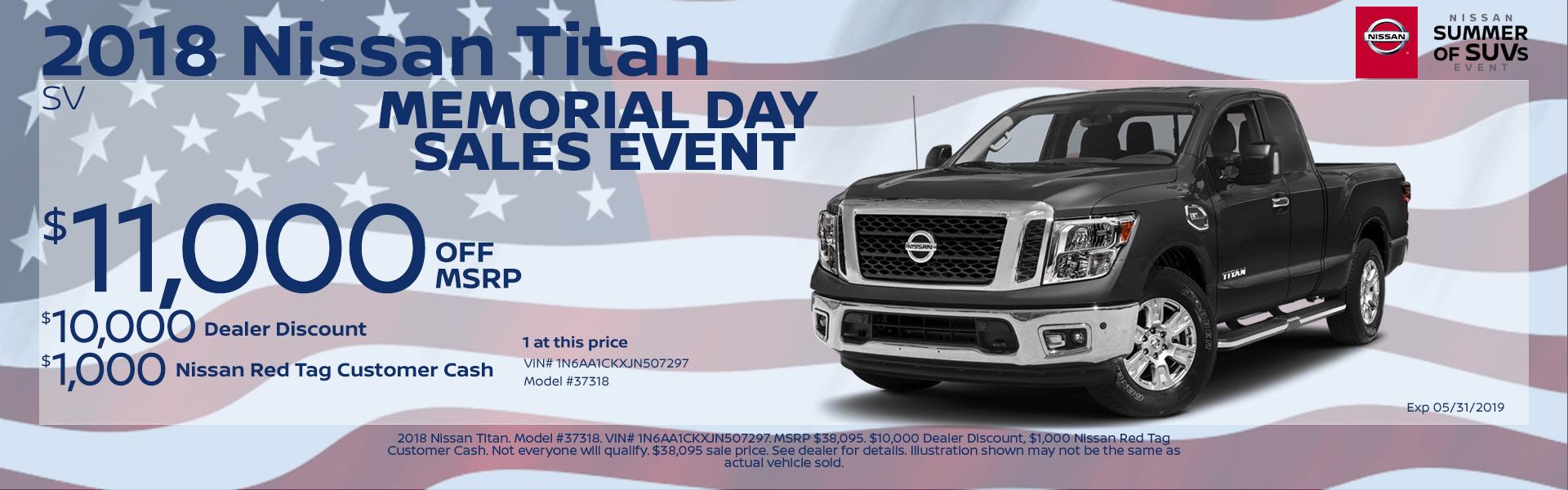 2018 Nissan Titan Special