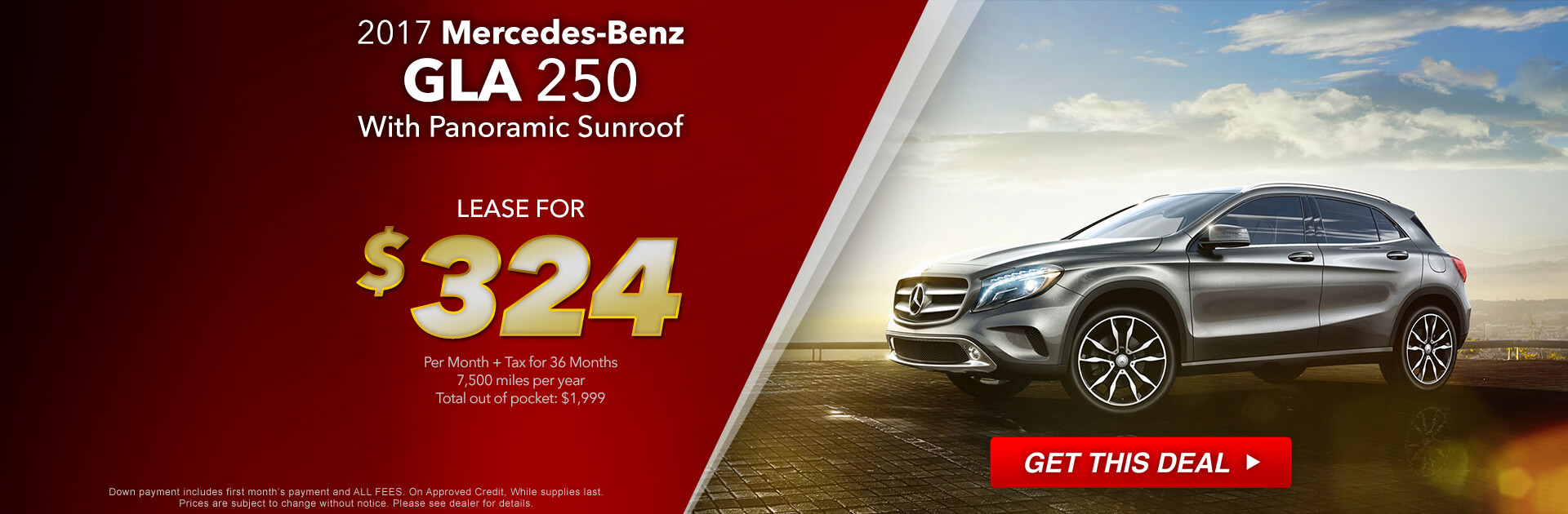 MBZ GLA Lease
