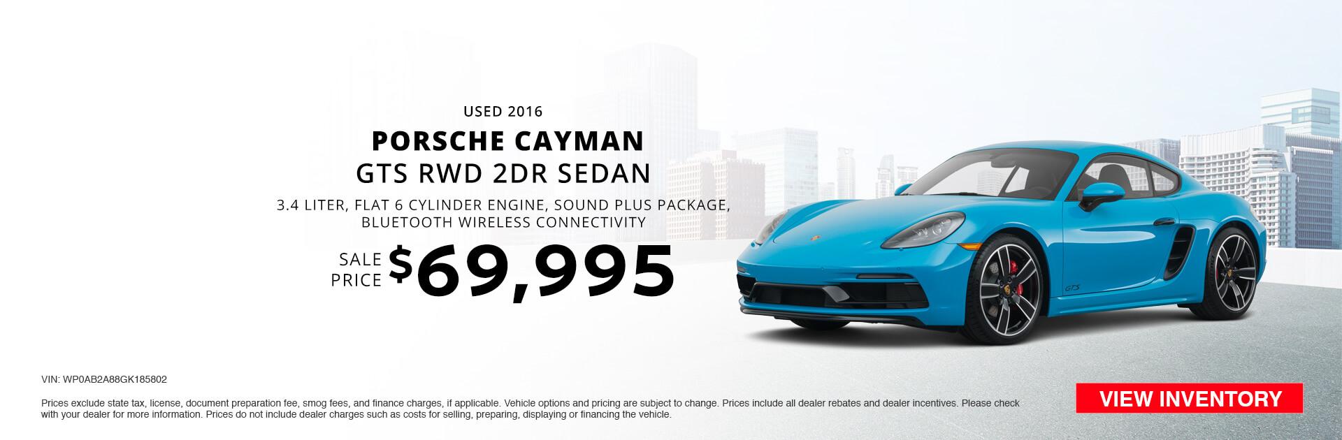 Used 2016 Porsche