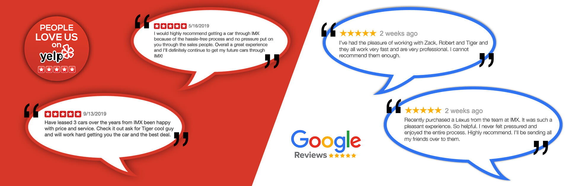 Reviews IMX Auto Group