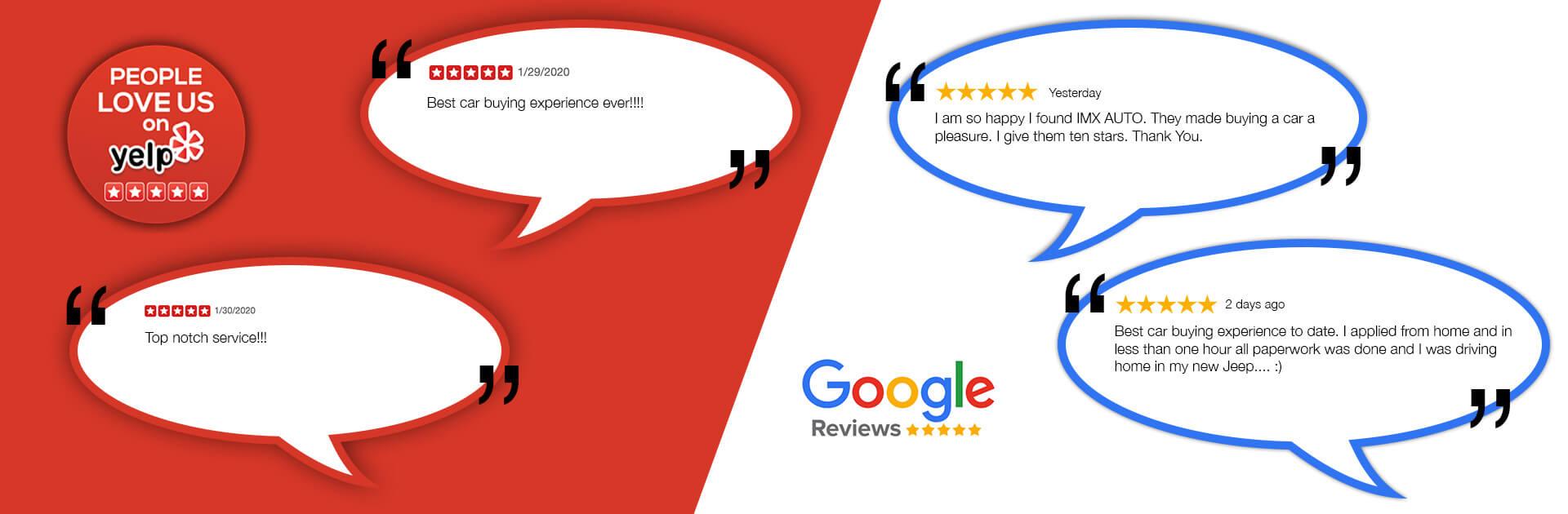 Reviews IMX Auto Group