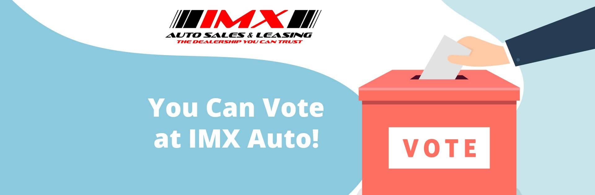 Vote at IMX