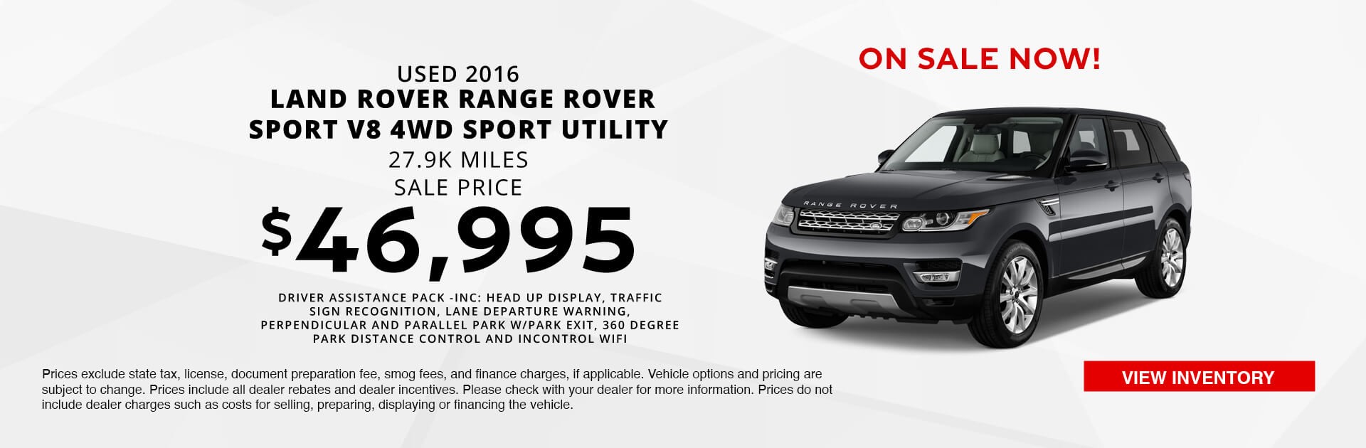 Used Land Rover Purch