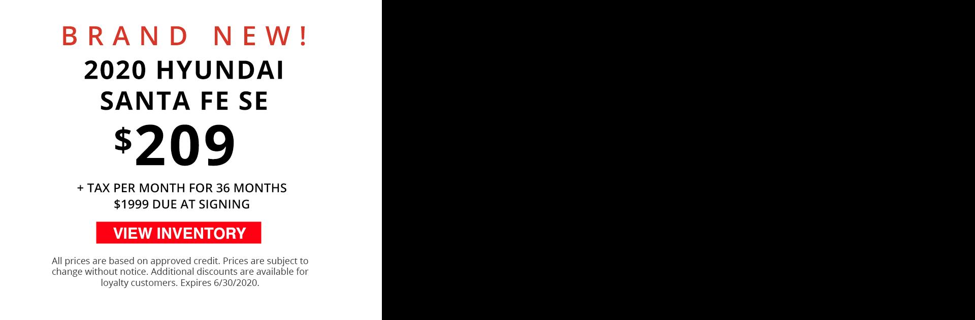 Video Banner -  2020 Santa Fe