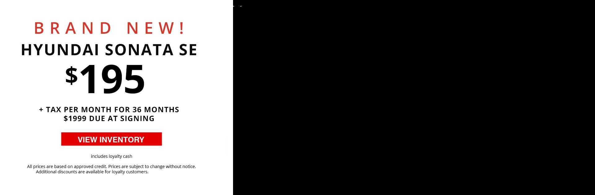 Video Banner - 2020 Hyundai Sonata SE