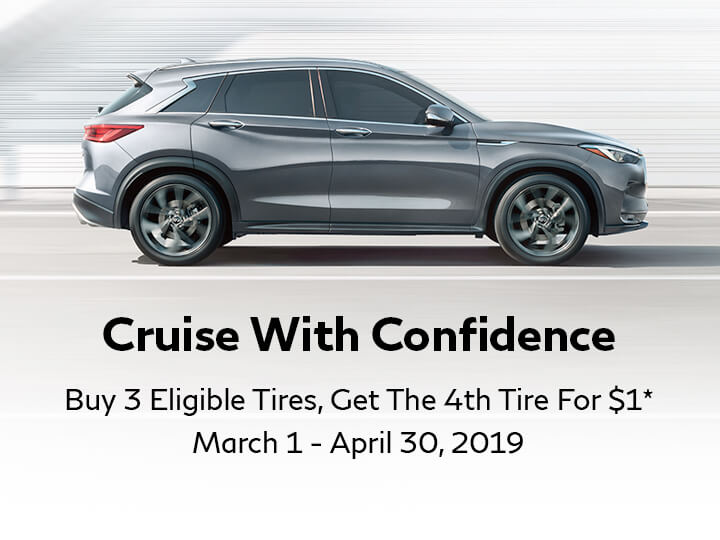 TIRE SPECIAL Buy 3 Tires, Get the 4th For