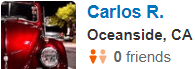 Oceanside,CA Yelp Review