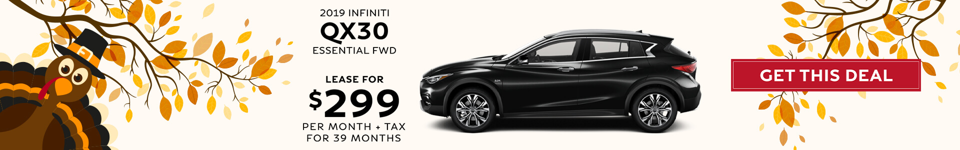 QX30 ESSENTIAL - Lease for $299