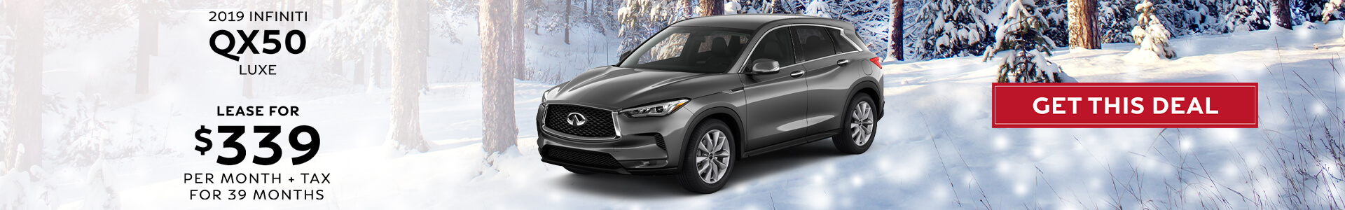 QX50 LUXE - Lease for $339