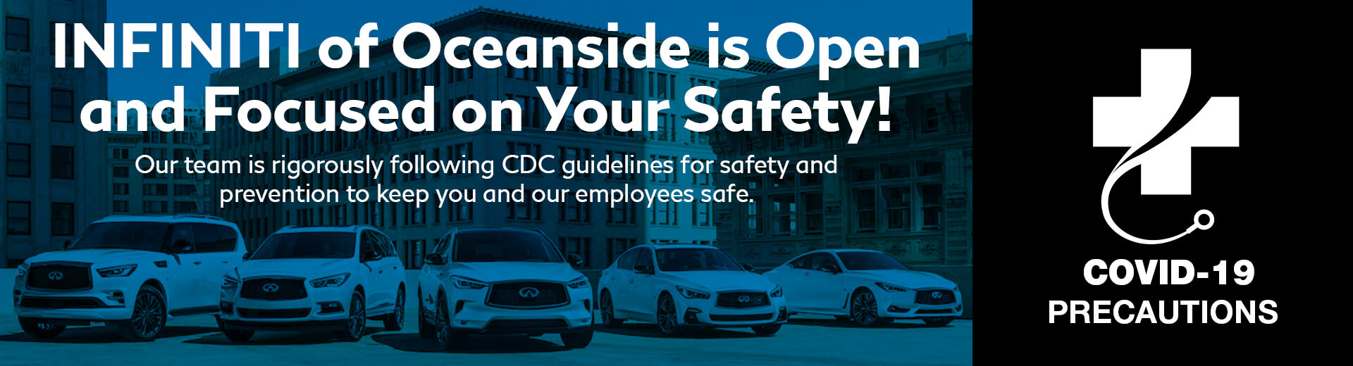 Mossy Nissan is Open and Focused on Your Safety